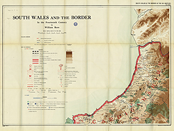 South Wales and the Border in the 14th century, NW